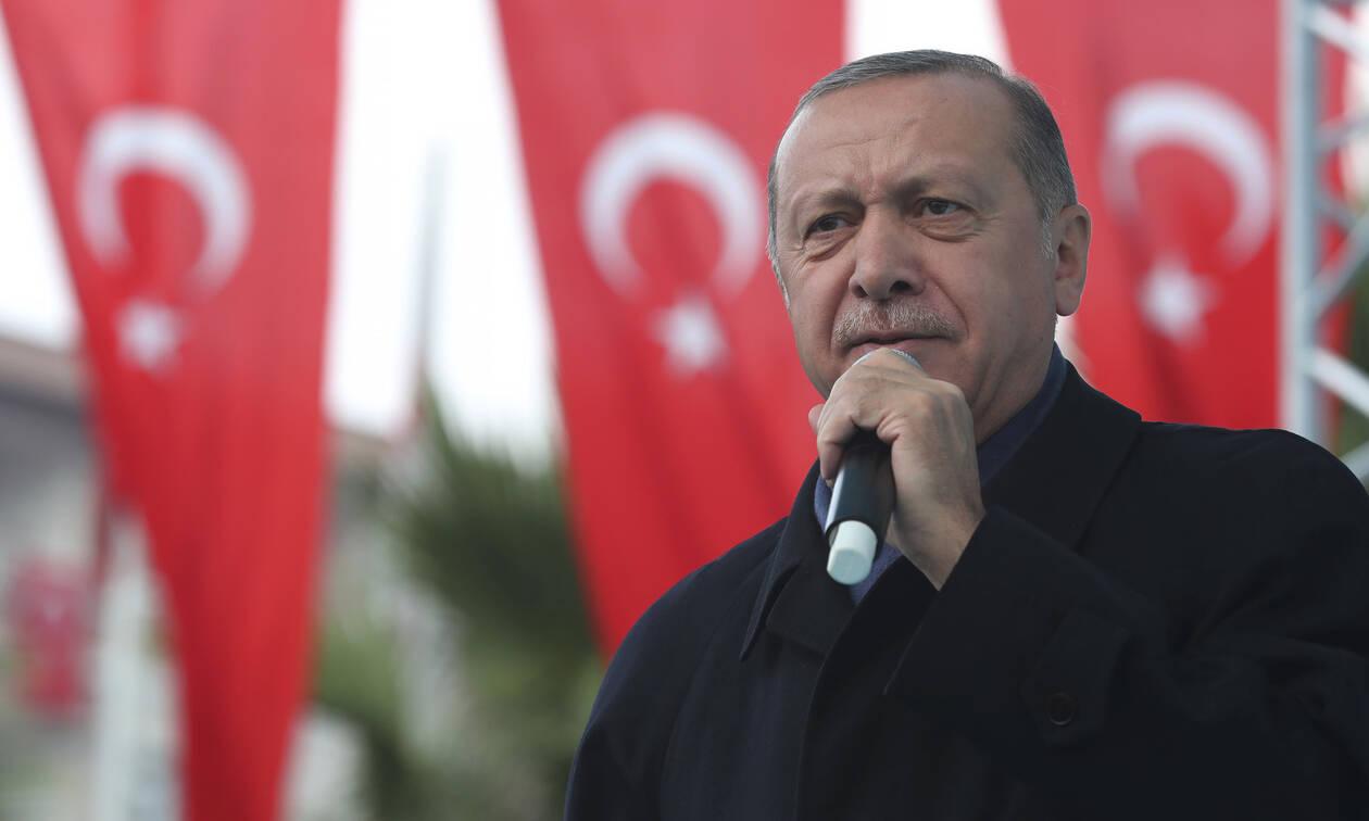Ερντογάν: Απειλεί και πάλι για τη Μεσόγειο - «Αν χρειαστεί θα μιλήσουμε τη γλώσσα που καταλαβαίνουν»