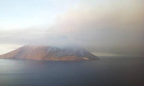 Ιταλία: Η στιγμή της έκρηξης στο ηφαίστειο Στρόμπολι (vids)