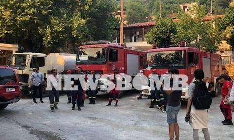 Πυρκαγιά στην Εύβοια - Ταφύλλης: «Δεν υπάρχει κανένας λόγος ανησυχίας»