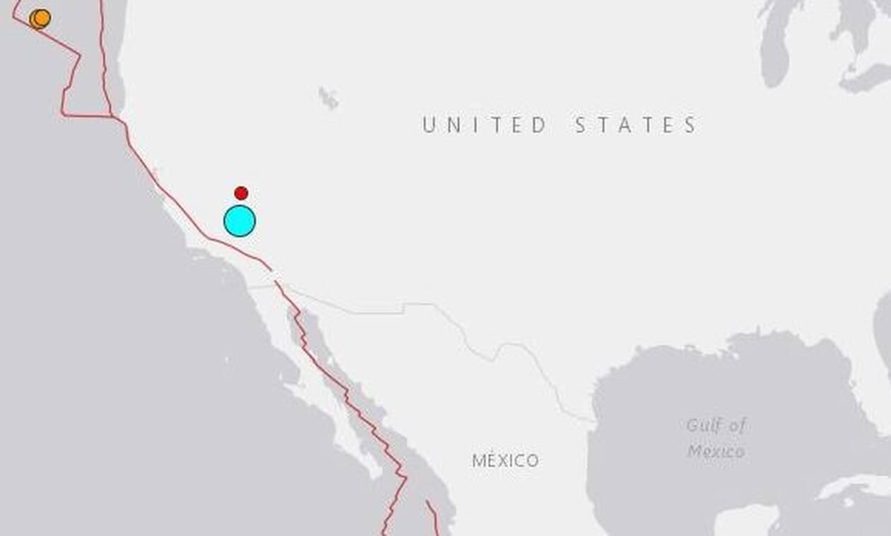 Ισχυρός σεισμός 6,4 Ρίχτερ ταρακούνησε την Καλιφόρνια
