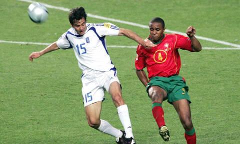 Σοκαριστική η εικόνα του βασικού στόπερ της Πορτογαλίας στο Euro 2004!
