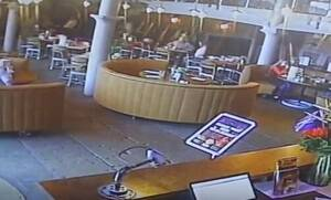 Απίστευτο: Δείτε τι συνέβη σε εστιατόριο όταν χτύπησε συναγερμός για φωτιά - Έξαλλος ο ιδιοκτήτης