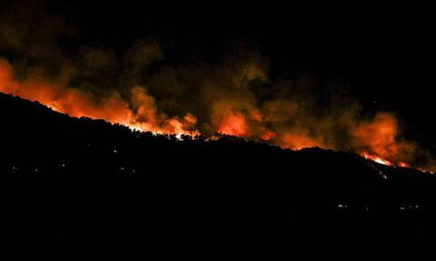 Φωτιά ΤΩΡΑ: Δύσκολη η νύχτα στην Εύβοια - Ξέσπασαν τρία νέα πύρινα μέτωπα