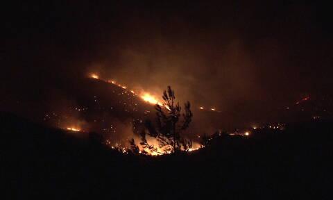 Φωτιά ΤΩΡΑ: Πύρινη κόλαση στην Εύβοια - Εκκενώθηκαν τέσσερα χωριά