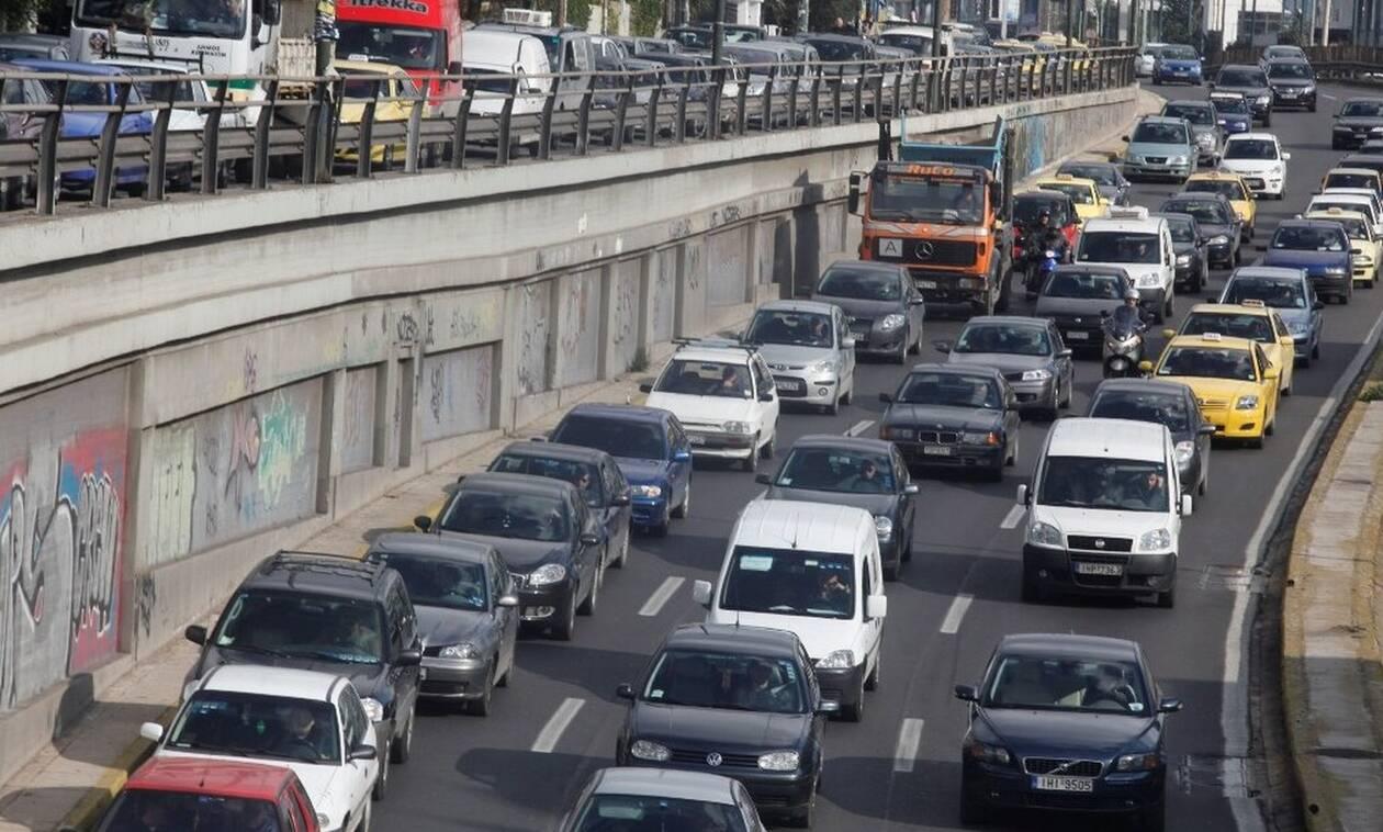Κυκλοφοριακό κομφούζιο στην Αθήνα - Ποιους δρόμους να αποφύγετε