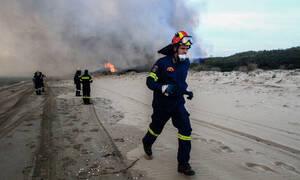 Φωτιά Σπάτα: «Συζητήσαμε εκκένωση, αλλά δεν χρειάστηκε» λέει ο δήμαρχος