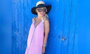Οι fans της Μενεγάκη την έκραξαν για τις διακοπές που κάνει κι εκείνη απάντησε κατάλληλα