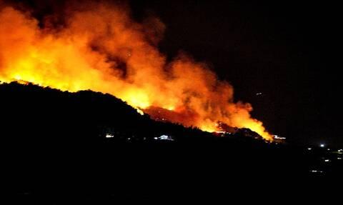 Δεν έχει τέλος το θρίλερ στην Εύβοια: Ολονύχτια μάχη με τις φλόγες για δεύτερο 24ωρο