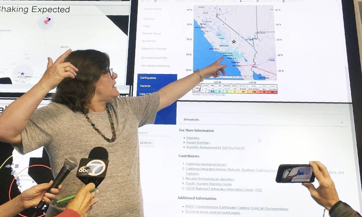 Ισχυρός σεισμός 7,1 Ρίχτερ στην Καλιφόρνια