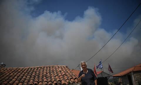 Φωτιά στην Εύβοια: Συνεχίζεται η μάχη με τα πύρινα μέτωπα και τις αναζωπυρώσεις