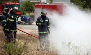 Φωτιά σε χώρο με σκουπίδια στη Βεΐκου