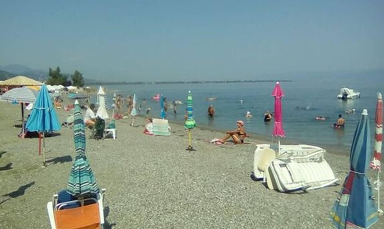 Πανικός σε παραλία στην Κρήτη: Δείτε τι έκανε ζευγάρι και τρόμαξε τους λουόμενους