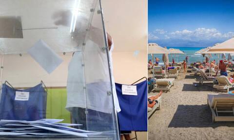 Καιρός των εκλογών: Με ζέστη στις κάλπες και μετά στις… παραλίες (pics)