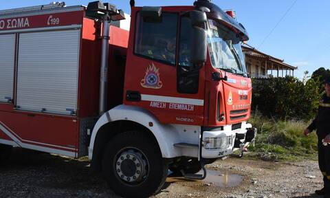 Φωτιά στην Ανατολική Μάνη - Απομακρύνθηκαν οι λουόμενοι