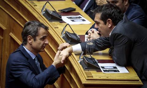 Αποτελέσματα εκλογών 2019: Τηλεφώνημα Τσίπρα σε Μητσοτάκη - Έδωσαν ραντεβού στο Μέγαρο Μαξίμου