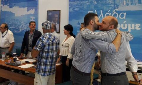 Αποτελέσματα εκλογών 2019 - Ηράκλειο: Πανηγυρισμοί στα γραφεία της ΝΔ