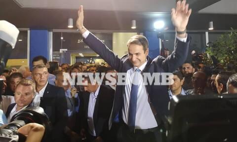 Αποτελέσματα εκλογών 2019  - Μητσοτάκης: Θα αλλάξουμε τη χώρα – Ενωμένοι θα γράψουμε ιστορία