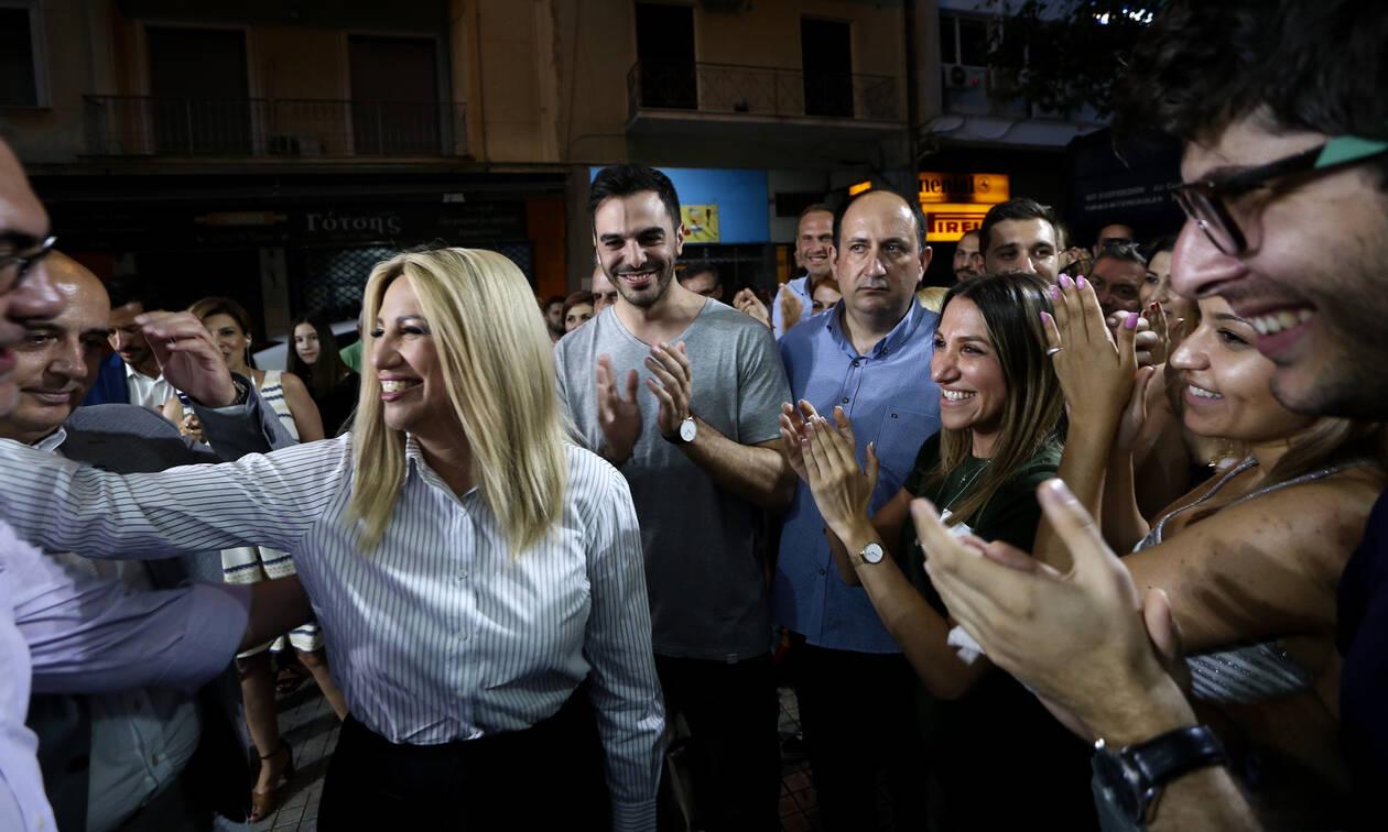 Αποτελέσματα εκλογών 2019 - Γεννηματά: «Ο αγώνας μας συνεχίζεται με βάση τα νέα δεδομένα»