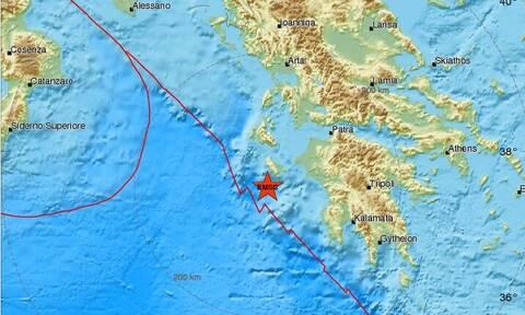 Σεισμός κοντά στη Ζάκυνθο - Αισθητός στο νησί (pics)