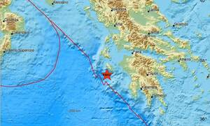 Σεισμός ΤΩΡΑ κοντά στη Ζάκυνθο - Αισθητός στο νησί (pics)