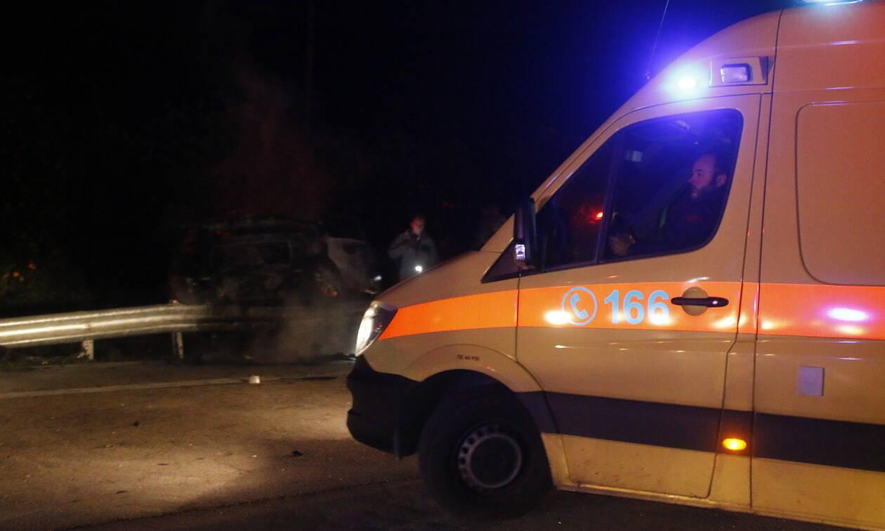 Φρικτό τροχαίο στην Κρήτη: Δύο νεκροί και μία τραυματίας