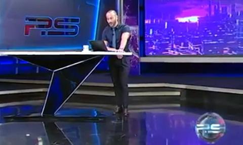 """МИД РФ назвал мат грузинского телеведущего в адрес Путина """"беспрецедентной по своей низости выходкой"""