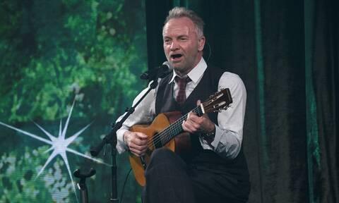 Αγωνία για την υγεία του Στινγκ - Ακυρώθηκε συναυλία του στο Βέλγιο