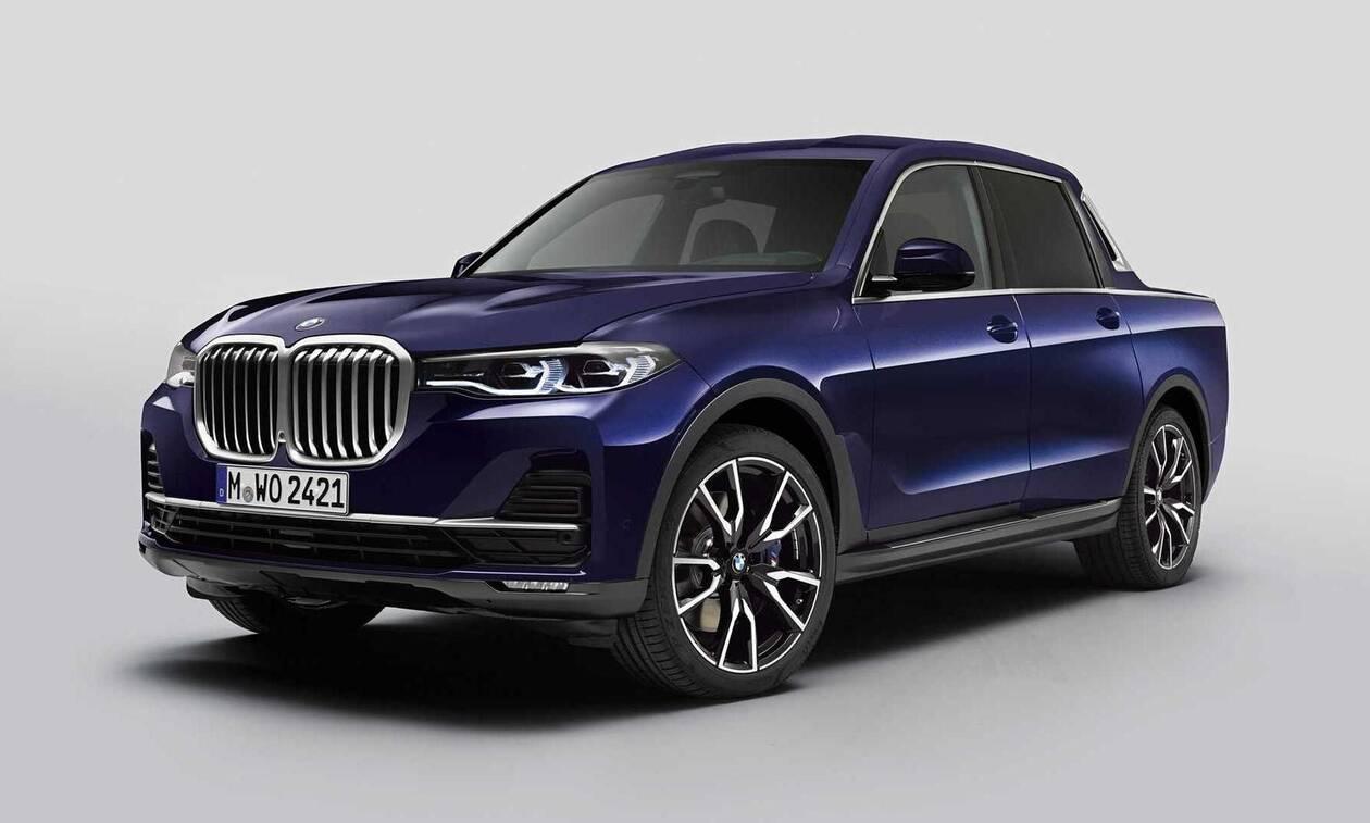 Δείτε τη θηριώδη BMW X7 και ως πολυτελές αγροτικό