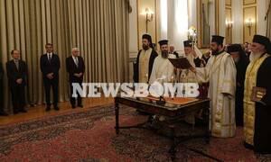 Ορκίστηκε η νέα κυβέρνηση στο Προεδρικό Μέγαρο - Την Τετάρτη το υπουργικό συμβούλιο