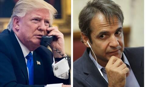 Τηλεφωνική επικοινωνία Μητσοτάκη - Τραμπ: Τι συζήτησε ο πρωθυπουργός με τον πρόεδρο των ΗΠΑ