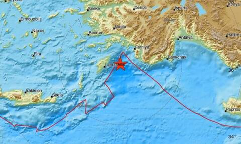 Σεισμός κοντά στη Ρόδο (pics)