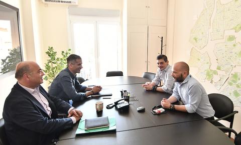 Συνάντηση Γιαννακόπουλου - Μπακογιάννη για το Βοτανικό (video+photos)