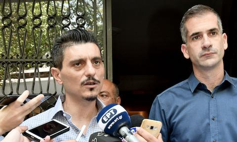 Σιγουριά Δημήτρη Γιαννακόπουλου και Κώστα Μπακογιάννη για τον Βοτανικό (photos+video)