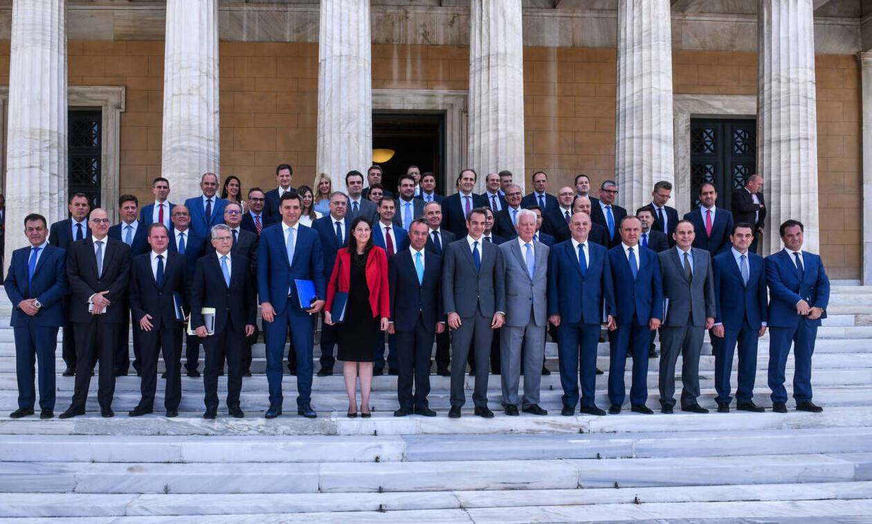 Мицотакис возглавил первое заседание нового кабмина