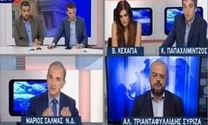 Άγριος καβγάς στην ΕΡΤ: Έξαλλος ο Σαλμάς – «Αρπάχτηκε»  με δημοσιογράφους