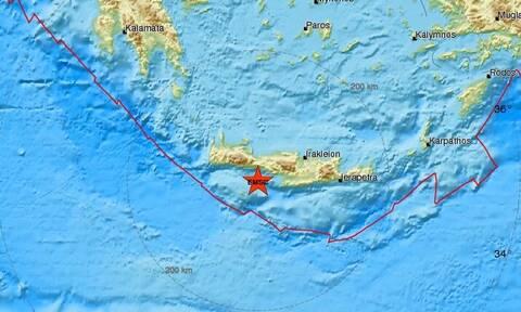 Σεισμός ΤΩΡΑ στην Κρήτη - Αισθητός σε πολλές περιοχές (pics)