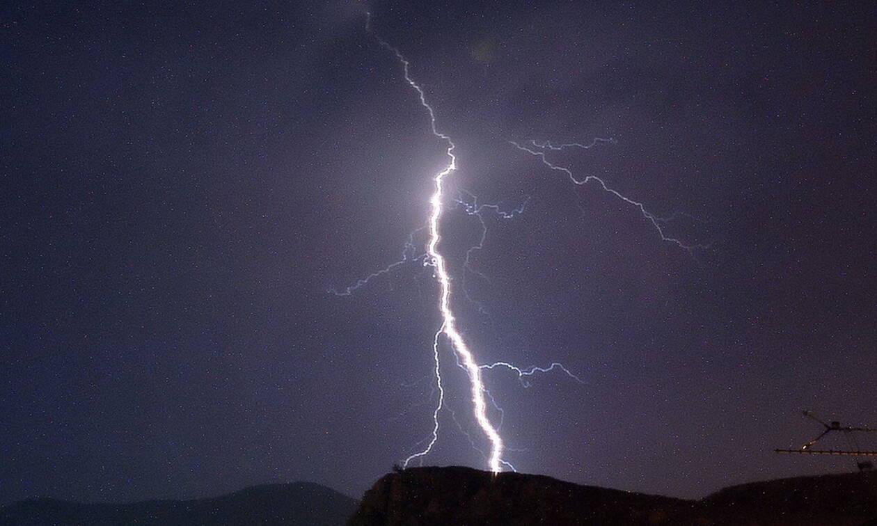 Καιρός Χαλκιδική: Χιλιάδες κεραυνοί έπεσαν την ώρα της φονικής κακοκαιρίας (pic)