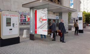 В Москве на остановках установили новые автоматы по продаже билетов