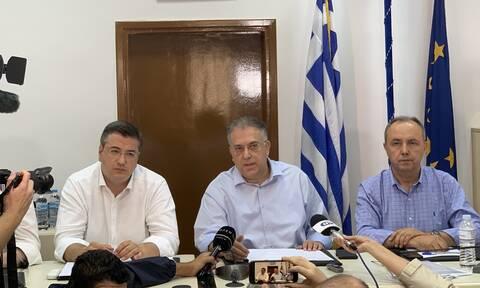 Κακοκαιρία στη Χαλκιδική – Θεοδωρικάκος: Με εντολή του πρωθυπουργού θα καλυφθούν οι αποζημιώσεις