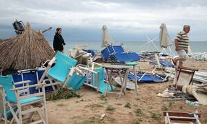 Four hospitalized in Papanikolaou after storm, one in critical condition