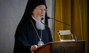 Βαρθολομαίος για τη φονική κακοκαιρία της Χαλκιδικής: Είμαστε κοντά στις οικογένειες των θυμάτων