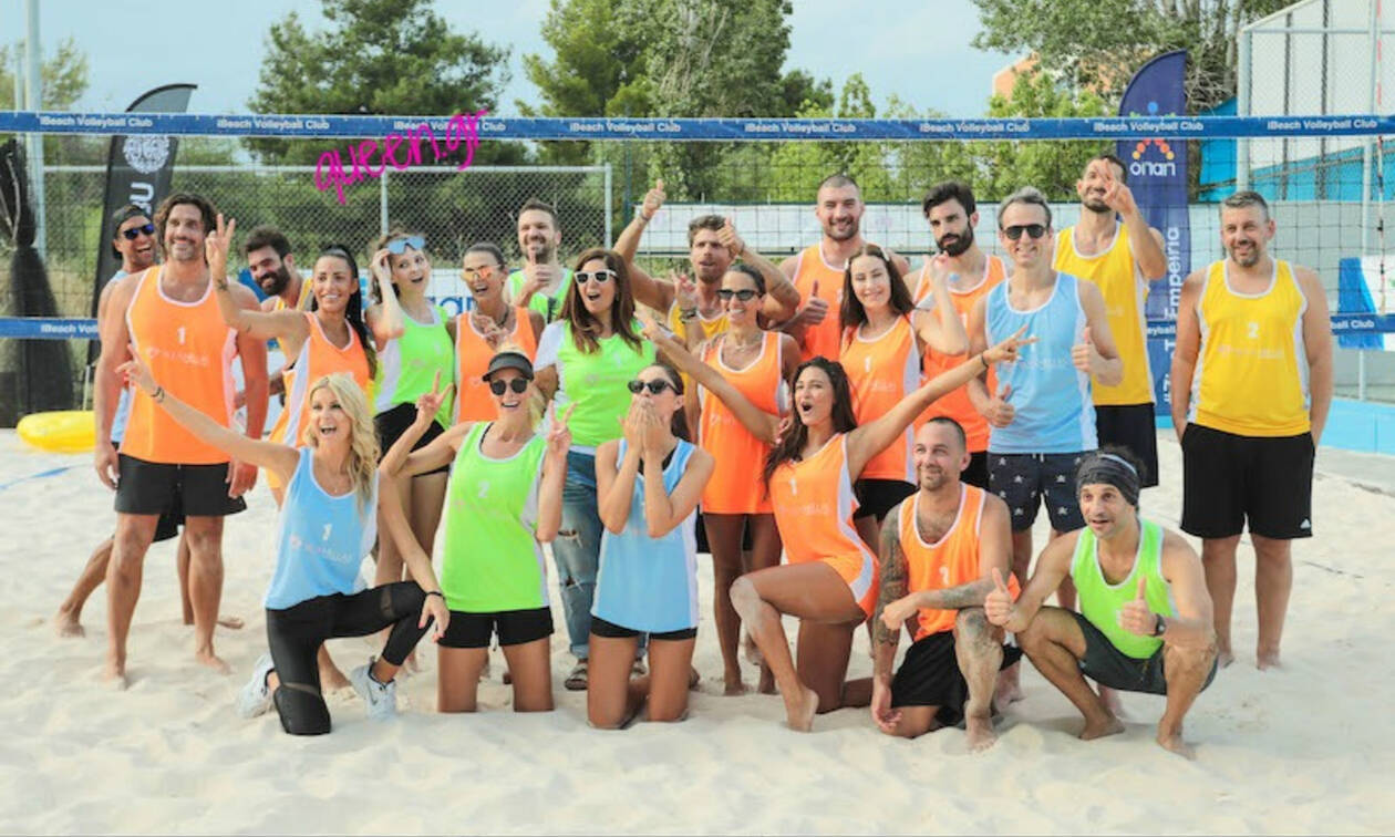 Όλα όσα έγιναν στον Celeb αγώνα Beach Volley της W.I.N. Hellas