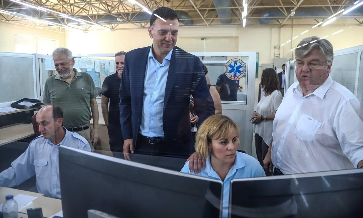 Συγχαρητήρια Κικίλια στο ΕΚΑΒ: «Σώσατε κόσμο στη Χαλκιδική»