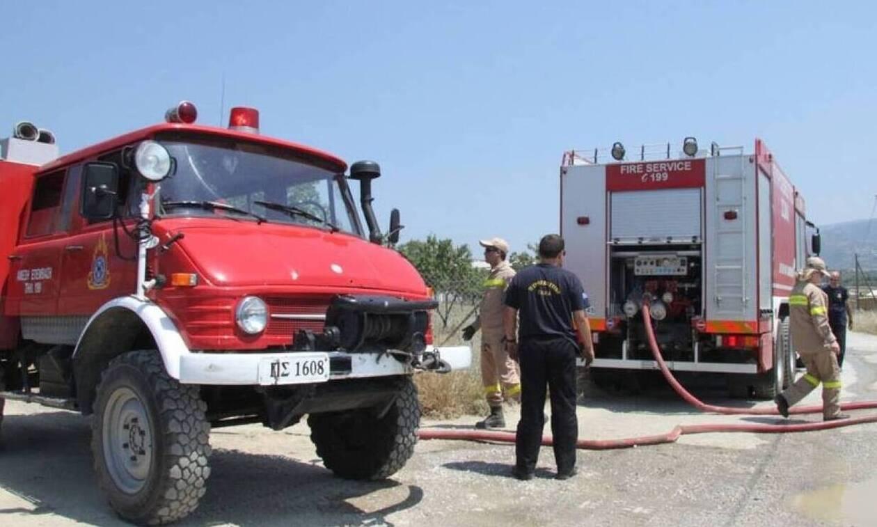 Υπό έλεγχο η φωτιά στο Κάτω Σούλι Μαραθώνα