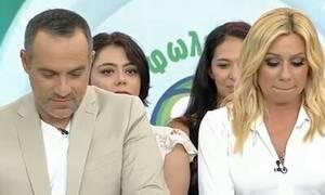 Κατερίνα Καραβάτου: «Λύγισε» στον αέρα της εκπομπής - Τι συνέβη (pics)