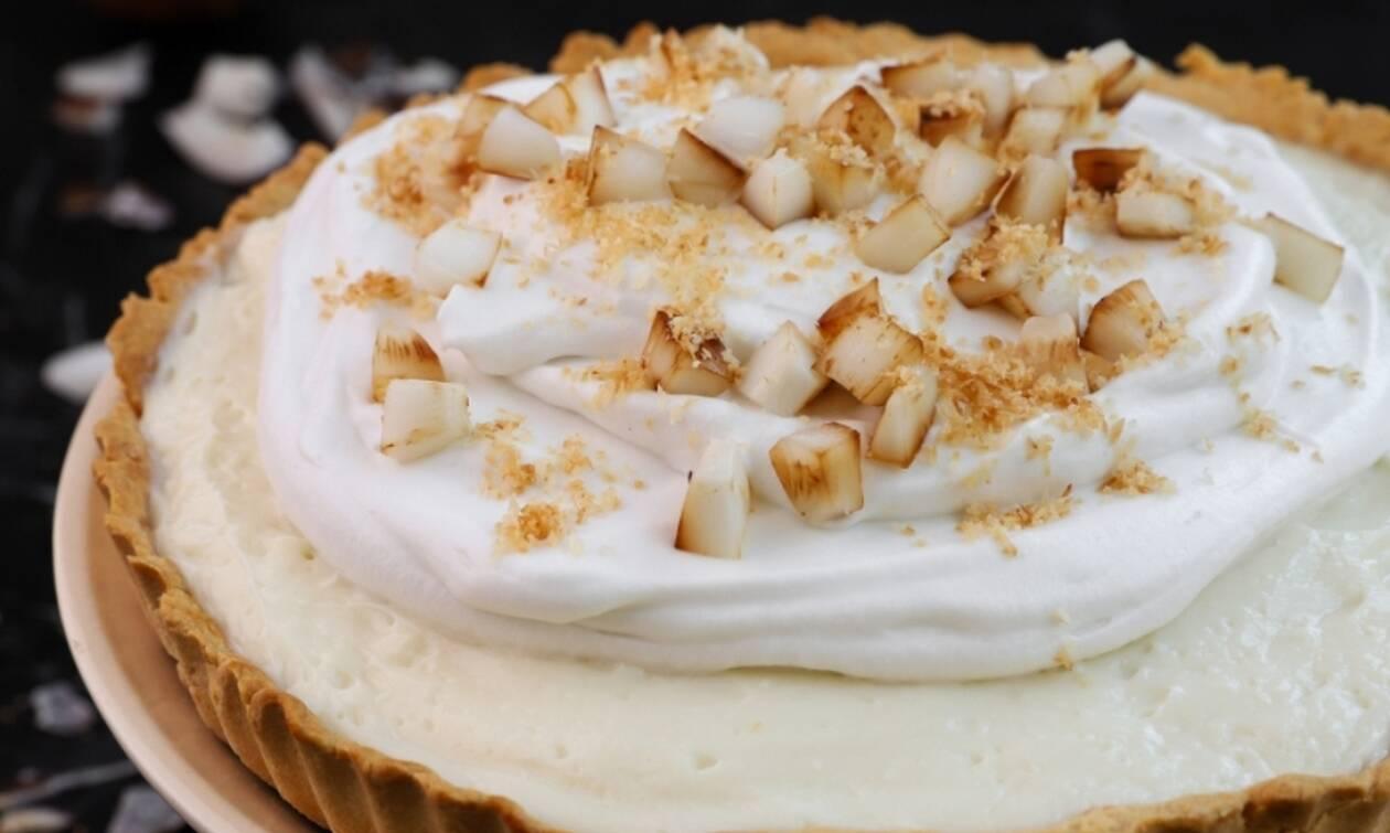 Η συνταγή της ημέρας: Τάρτα καρύδας