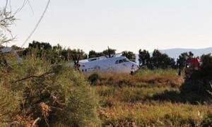 Απίστευτο: Αεροπορικό ατύχημα στη Νάξο – Έκλεισε το αεροδρόμιο (pics)