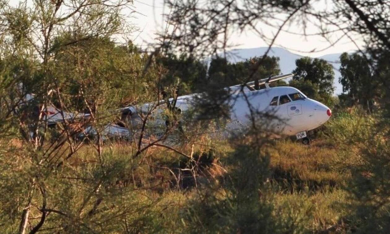 Νάξος: Οι πρώτες εικόνες από το ατύχημα στο αεροδρόμιο