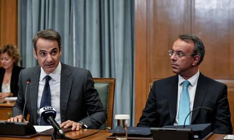 Στο τραπέζι του Μαξίμου οι μεταρρυθμίσεις της κυβέρνησης - Τι συζήτησαν Μητσοτάκης - Σταϊκούρας