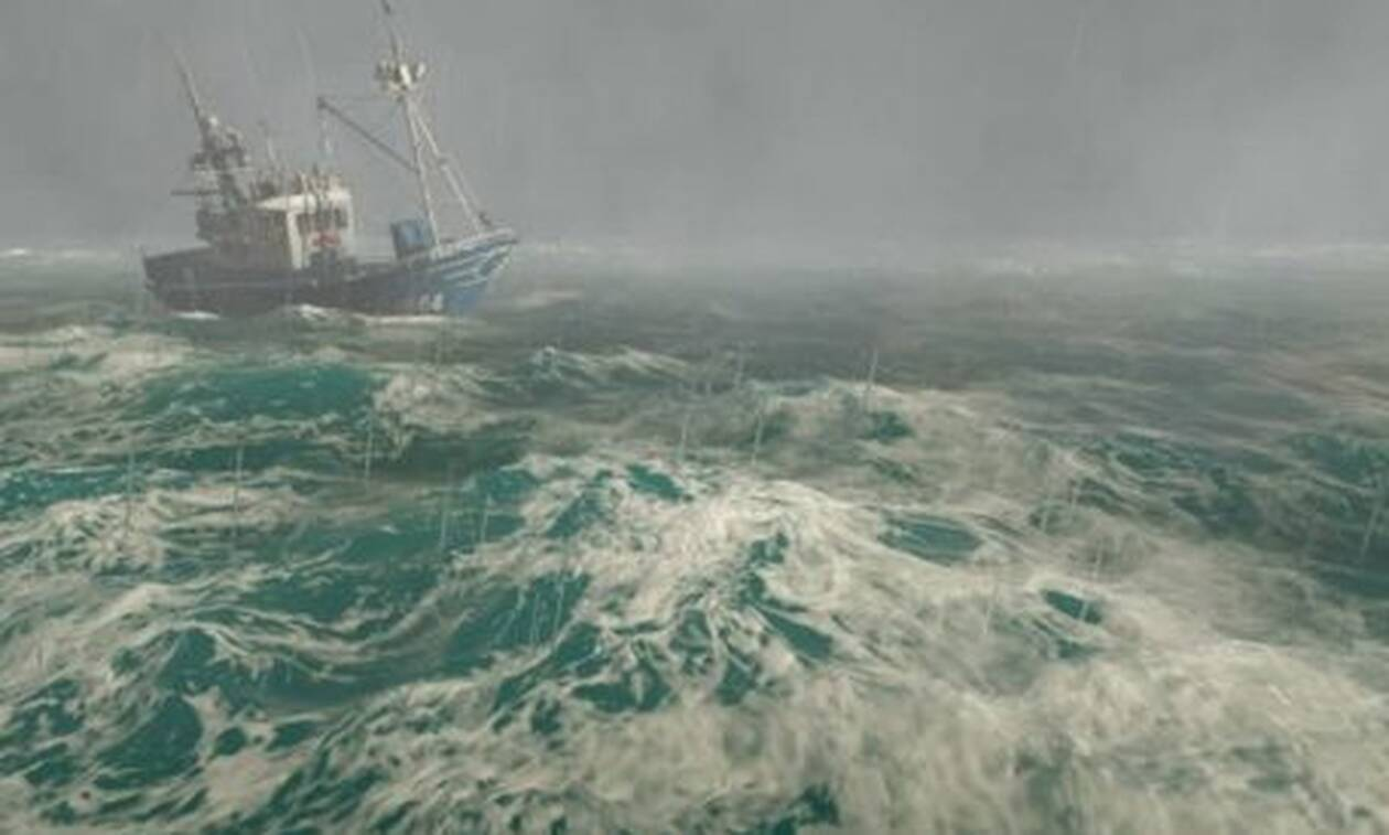 Βίντεο-ντοκουμέντο: Το καΐκι που τα… έβαλε με την υπερκαταιγίδα της Χαλκιδικής!